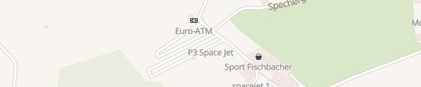 Karte Space Jet 1 Flachau