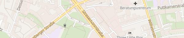 Karte Parkhaus Lidl Berlin