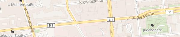 Karte Parkhaus NH Hotel Mitte Berlin