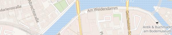 Karte Parkhaus Melia Hotel Berlin