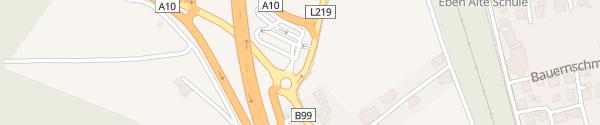Karte Park & Ride Parkplatz Eben im Pongau