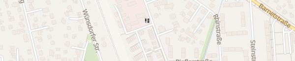 Karte Nuthestraße Berlin