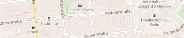 Karte Deutscher Dom Berlin