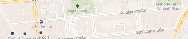 Karte be emobil Markgrafenstraße Berlin