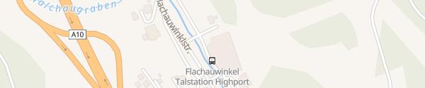 Karte Bergbahn Highport Flachauwinkel
