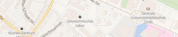 Karte Klinikum HGW Greifswald