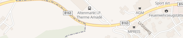 Karte Therme Amadé Altenmarkt