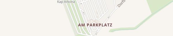 Karte Parkplatz Kap Arkona Putgarten