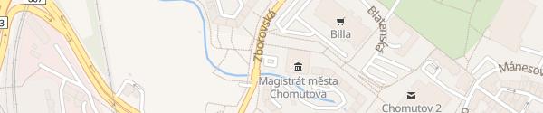 Karte Magistrát města Chomutova Chomutov
