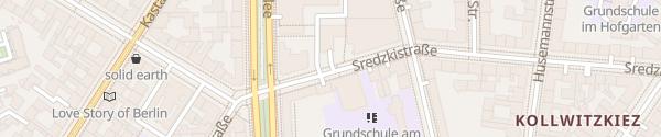 Karte Parkhaus Kulturbrauerei Berlin