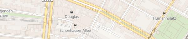 Karte Parkhaus Schönhauser Allee Arcaden Berlin