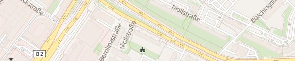 Karte ubitricity Laterne Berlin