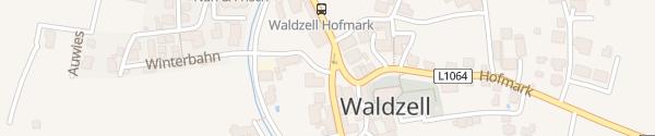 Karte Gemeindeamt Waldzell