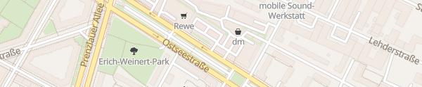 Karte Parkplatz Rewe Berlin