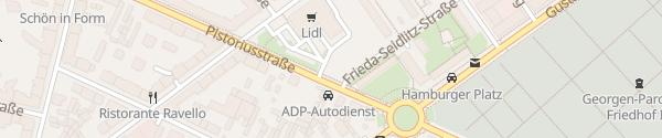 Karte Lidl Berlin