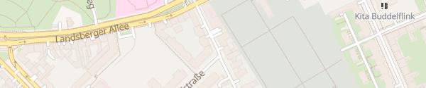 Karte Matthiasstraße Berlin