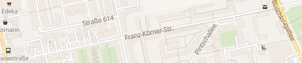 Karte Franz-Körner-Straße Berlin
