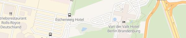 Karte Fastned Van der Valk Hotel Berlin Brandenburg Blankenfelde-Mahlow