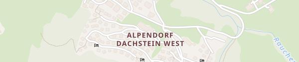 Karte Alpendorf Dachstein West Annaberg-Lungötz