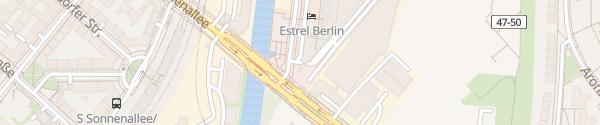 Karte Parkhaus Estrel Hotel Berlin