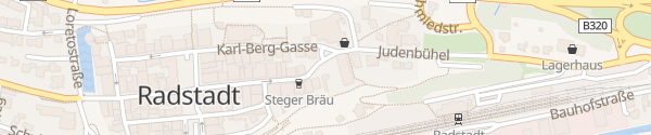 Karte Prehauserplatz Radstadt