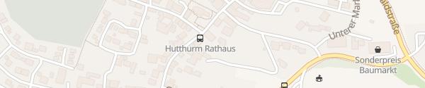 Karte Rathaus Hutthurm