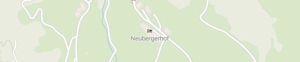 Karte Hotel Neubergerhof Filzmoos