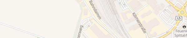 Karte Erlebnisbad Drautalperle Spittal an der Drau