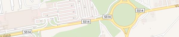 Karte Flughafen Triest Ronchi di Legionari