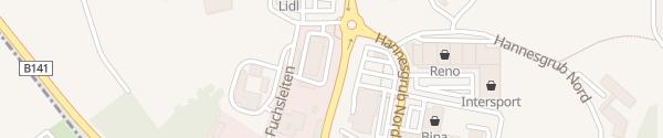 Karte ÖAMTC Stützpunkt Ried Tumeltsham