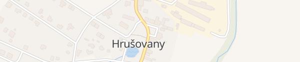 Karte Obec Hrušovany