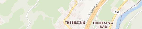 Karte Gemeindeamt Trebesing