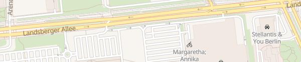 Karte IKEA Parkplatz Berlin Lichtenberg Berlin