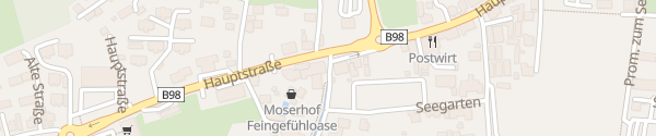 Karte Moserhof Seeboden