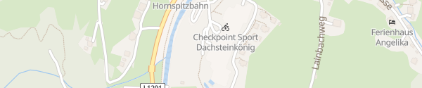 Karte Hotel & Resort Dachsteinkönig Gosau