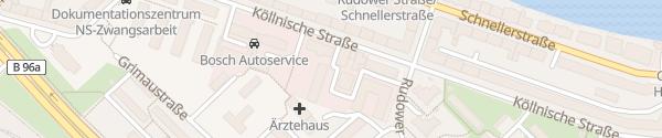 Karte BMW Graubaum Berlin
