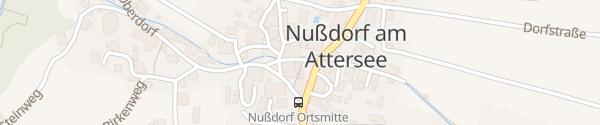 Karte Hotel Landgasthof Ragginger Nußdorf am Attersee