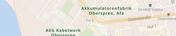Karte Parkplatz Elektro-Innung Berlin