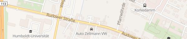Karte Auto Zellmann Berlin