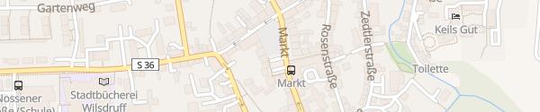 Karte Marktplatz Wilsdruff