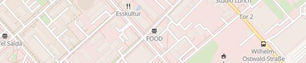 Karte Justus-von-Liebig-Straße Berlin