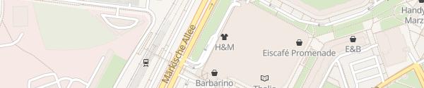 Karte Parkhaus Eastgate Berlin