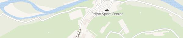 Karte Prijon sportcenter Bovec
