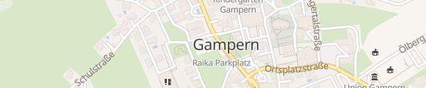 Karte Gemeindeamt Gampern
