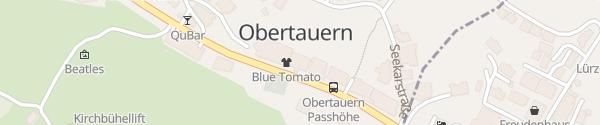 Karte Hotel Alpina Obertauern