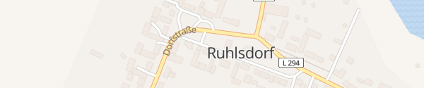 Karte Bürgerhaus Ruhlsdorf Marienwerder OT Ruhlsdorf