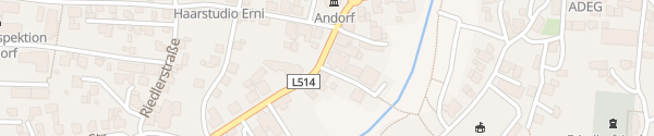 Karte Raiffeisenbank Andorf