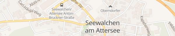 Karte Rathaus Seewalchen am Attersee
