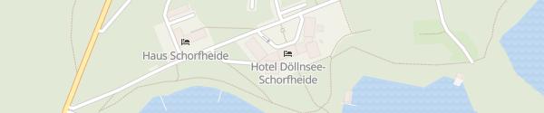 Karte Hotel Döllnsee-Schorfheide Templin