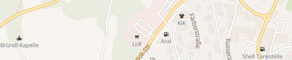 Karte Lidl Hauzenberg
